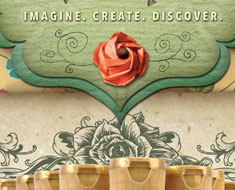 DecoArt Product Catalog – Cover Design
